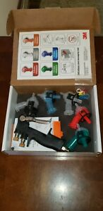 New 3m Accuspray One Spray Gun Kit 16578 Multi Tip Auto Body Paint System