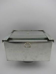 Hoosier Flour Bin With Lid
