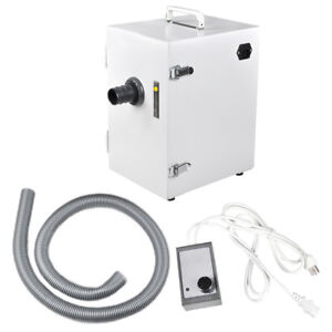 Dental Dentist Lab Digital Dust Collector Unit Vacuum Cleaner Machine us sale