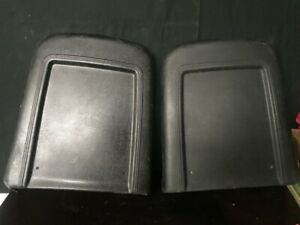 1967 Mustang Deluxe Seat Back Panels Gt Shelby Fastback Coupe Free Shipping