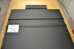 1973 73 Dodge Charger Sunroof Black Headliner 2 Bow Usa Made Top Quality