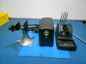 Oki metcal Ps 900 Soldering Power Supply Workstand Vise Lot Of 7
