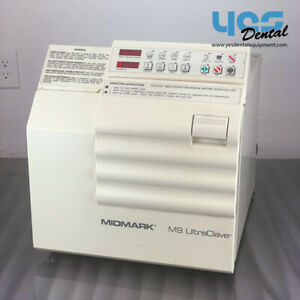 Ritter Midmark Dental Ultraclave M9 Autoclave Automatic Steam Sterilizer yes