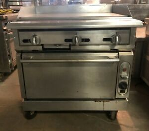 Vulcan 36 Griddle With Convection Oven Model Vgmt36c
