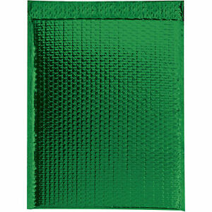 Glamour Bubble Mailers Self seal 16 X 17 1 2 Green 48 Pack Gbm1617g Lot
