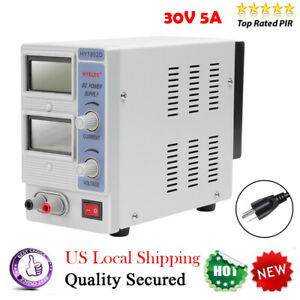 30v 10a 5a Adjustable Dc Power Supply Variable Dual Digital Lab Test Bp