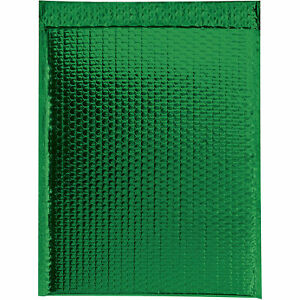 Glamour Bubble Mailers Self seal 18 X 22 Green 48 Pack Gbm1922g Lot Of
