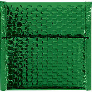 Glamour Bubble Mailers Self seal 7 X 6 3 4 Green 72 Pack Gbm0706g Lot