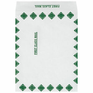 Tyvek Self seal Expandable Envelopes First Class 10 X 13 X 1 1 2 100 Pack