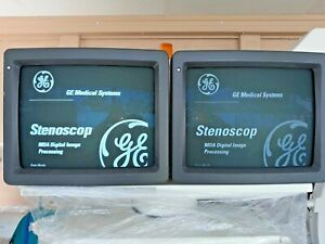 Ge Stenoscope Mda C arm System 1999 x ray injection printer pain Management
