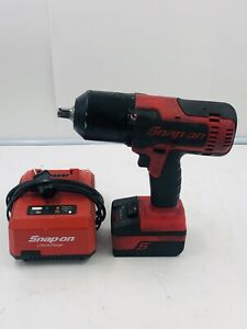 Snap On Ct8850 Cordless 1 2 18 Volt Impact Wrench W Battery And Charger