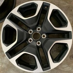 19 Inch 2019 19 Toyota Rav4 Rav 4 Oem Wheel 19x7 5 Black Machined Rim 75243 A