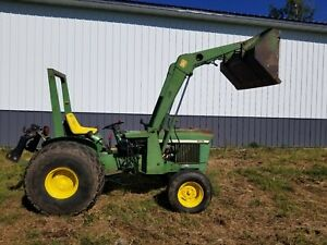 John Deere 830 Diesel Tractor Utility Compact With 143 Loader