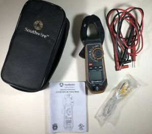 Southwire 21050t 400a Ac dc True Rms Clamp Meter Multimeter Works Great