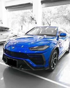 Carbon Fiber Front Lip Diffuser Fits For Lamborghini Urus Suv Body Kit