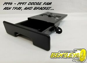 1994 1995 1996 1997 Dodge Ram Center Pull Out Dash Ash Tray Insert