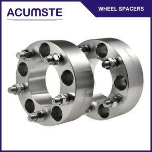 2pc 2 5x5 Wheel Spacers Adapters For Jeep Wrangler Grand Cherokee Jk 1 2 Studs