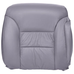 1995 Chevy gmc Truck And Suv Passenger Top Leather Seat Cover In Medium Gray