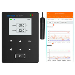 Temlog W1h Wifi Temperature Humidity Data Logger Iot Intelligent Remote Monitor