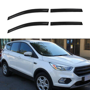 Fit For Ford Escape 2013 2019 Window Visors Cb822vw 4pc Set