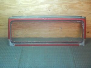 Jeep Wrangler Tj 97 02 Oem Red Windshield Frame Free Ship
