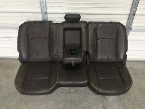 2009 2018 Dodge 2500 3500 Ram Laramie Longhorn Leather Rear Seats 09 10 11 12 13