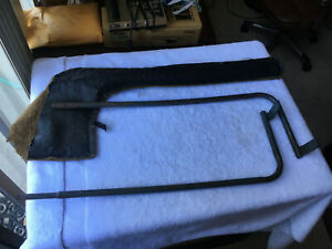 Mgb Tonneau Cover Support Bars Or Bows With Bag Oem Used