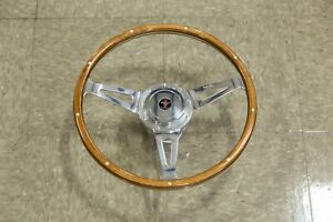 Moto Lita Mark 3 Dished Cobra Slot 15 Ford Mustang Shelby Style Steering Wheel