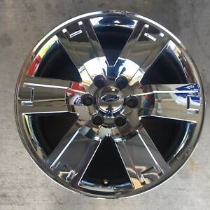 20 Inch Ford Expedition Chrome Clad 2007 2011 Oem Genuine Wheel 3659