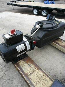Auto Lift Power Unit With Limit Switch Spx Fenner Stone Ad 1044 c