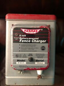 Vintage Parmak 6 Volt Battery Powered Fence Charger Df ss f Portable 25 Mile