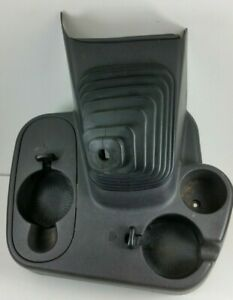 98 99 00 01 Dodge Ram Floor Shift Console Cup Holder Gray