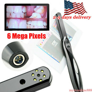 Dental Hd Usb 2 0 Intra Oral Intraoral Camera 6 Mega Pixels 6 led Endoscope Cam