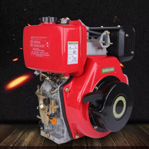 406cc 9hp Diesel Engine 4 Stroke Single Cylinder Air Cooling Diesel Engine Sale