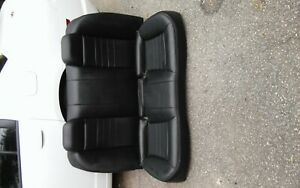 Dodge Charger Rear Leather Seat