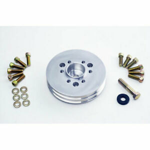 The Blower Shop 4225 Accessory Pulley Small Block Chevy 2v