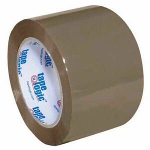 400 Industrial Tape 3 x110 Yds 2 Mil Tan 6 pack Lot Of 1