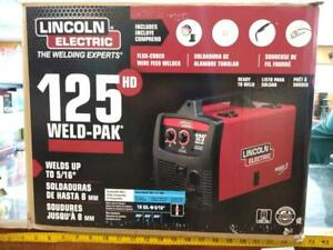 Lincoln Electric Wire Feed Welder Weld pak 125hd Local Pickup Only gep001799