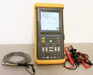 Fluke 99b Series Ii 2 channel 100 Mhz 5gs s Scopemeter