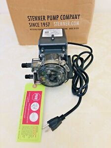Stenner 45mp3 Single Head Fixed Output Low Pressure Pump With Accessories New
