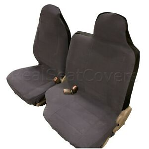 High Back 60 40 Split Bench Seat Cover Molded Headrest Custom Exact Fit Pickup