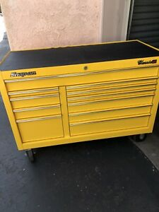 Snap On Tool Box Kra2411 Ultra Yellow Classic 78