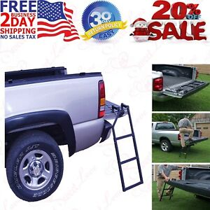 Truck 5 100 Tailgate Ladder Bed Tail Gate Step Easy Setup Universal Fit Work
