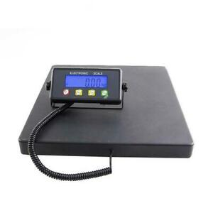 Digital Shipping Postal Parcel Scale 660 Lbs X 0 02lb Large Platform 15 7x15 7in