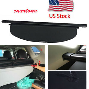 Rear Trunk Cargo Luggage Security Shade Cover Area For 2014 2019 Nissan Rogue