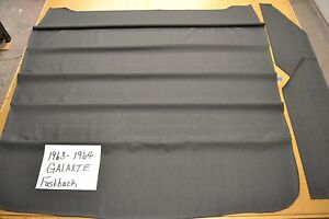 1963 63 1964 64 Ford Galaxie Fastback Black Headliner Usa Made Top Quality