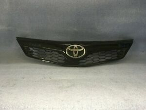 2012 2013 2014 Toyota Camry Se For Parts Use Front Bumper Grille Oem