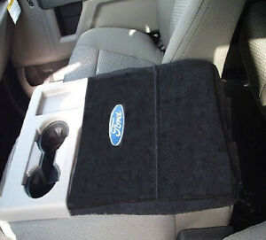 For Ford F150 F250 2014 2020 Official Ford Embroidered Console Cover Photo Shown