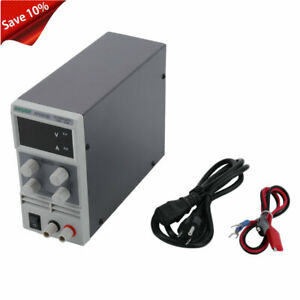 30v 10a Adjustable Variable Digital Dc Regulated Power Supply Grade W cable Bt
