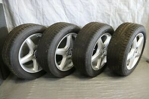 09 Mercedes Ml550 Ml Amg Wheels Tires Set Michelin 19 255 50 R19 Non Staggered
